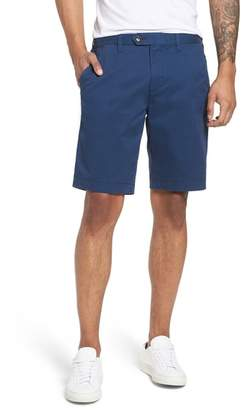Ted Baker Proshtt Stretch Cotton Shorts