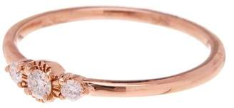 Bony Levy 18K Rose Gold Diamond Stackable Ring - 0.11 ctw