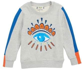 Kenzo Flippable Sequin Eye Sweatshirt