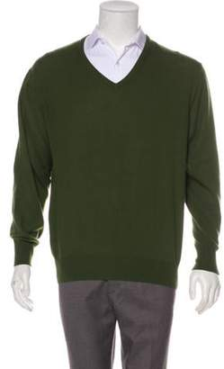 5ee33c6dcc7 Olive Knitted Sweater Men - ShopStyle