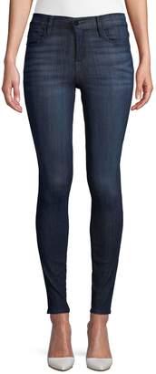 Frame High-Waist Skinny Jeans