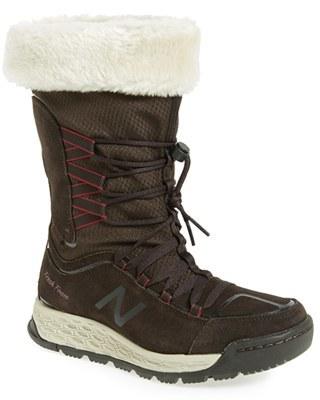 New BalanceWomen's New Balance Q416 1000 Faux Fur Waterproof Platform Boot