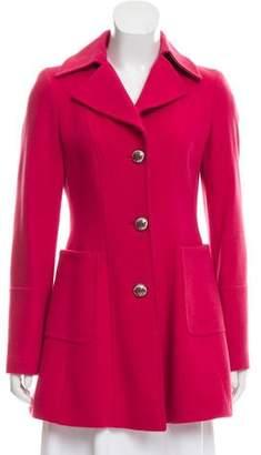 Etro Short Notch-Lapel Coat