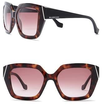 Balenciaga Women's 57mm Oversized Sunglasses