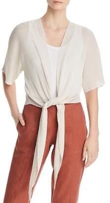 Eileen Fisher Tie-Front Cardigan