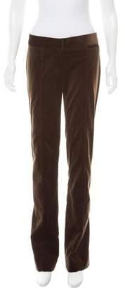 CNC Costume National Velvet Mid-Rise Pants