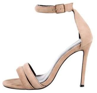 Nicholas Suede Ankle Strap Sandals