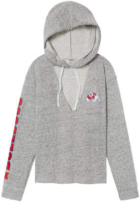 PINK Fresno State Choker Neck Pullover Hoodie