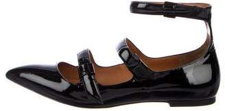 Marc by Marc Jacobs Patent Leather Pointed-Toe Flats