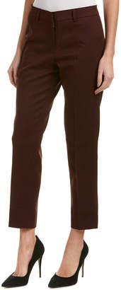 James Jeans Rouge Noir Flannel Ankle Trouser