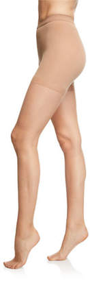 Donna Karan Nudes Tone-Matching Tights w/ Sandal Toe