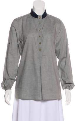 0039 Italy Embellished Tunic Top