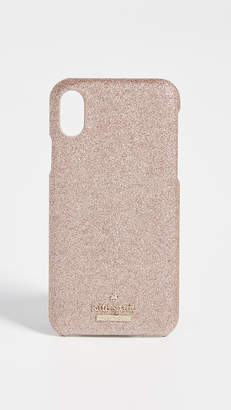 Kate Spade Glitter Snap Case iPhone X Case