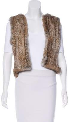 Max & Co. MAX&Co. Fur-Paneled Vest