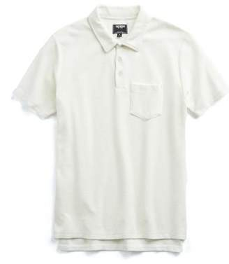Todd Snyder Terry Polo in White