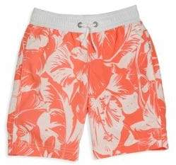 Onia Toddler's& Little Boy's Hibiscus Printed Shorts