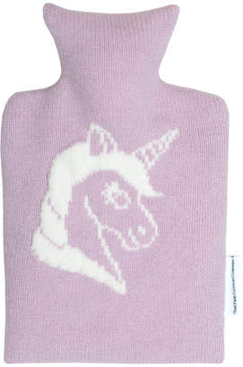The Fine Cotton Company Unicorn Knitted Hot Water Bottles
