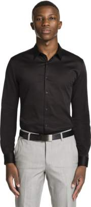yd. BLACK BERNERS MUSCLE FIT SHIRT