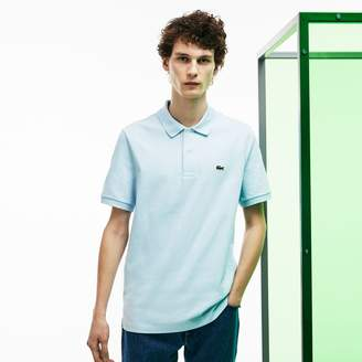 Lacoste Men's Fashion Show Thick Cotton Jersey Polo