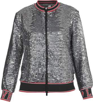 Love Moschino Sequinned Bomber Jacket