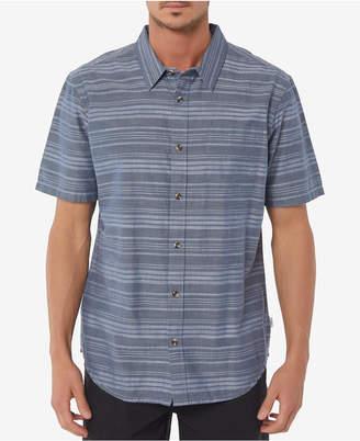 O'Neill Men's Line Up Stripe Pocket Stretch Shirt