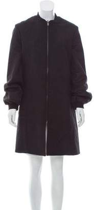 Y/Project Wool-Blend Knee-Length Coat w/ Tags