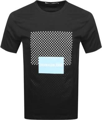 Calvin Klein Star Logo T Shirt Black
