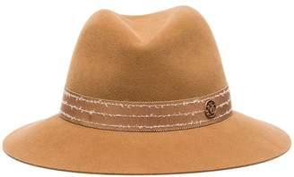 Maison Michel camel Henrietta wool felt hat
