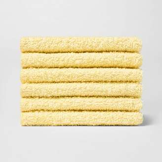 Room Essentials 6pk Washcloth