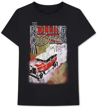 Bravado Rolling Stones Men's Uk Tour 1971 Graphic T-Shirt