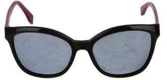 Fendi Polarized Oversize Sunglasses