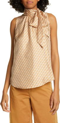 Joie Pascale Sleeveless Silk Top