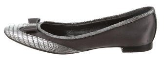 Marc Jacobs Marc Jacobs Embossed Bow Flats