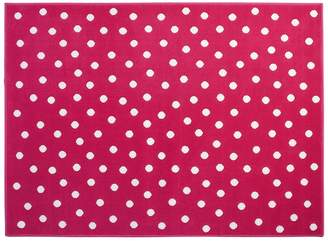 Lorena Canals Dots Acrylic Rug (Fuchsia 2X-Large)