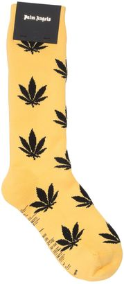 Leaves Cotton Blend Socks $60 thestylecure.com