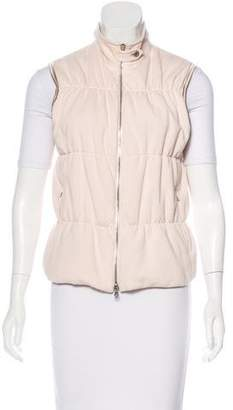 Brunello Cucinelli Quilted Zip-Up Vest