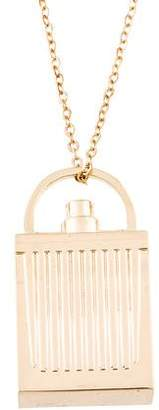 Chloé Perfume Bottle Pendant Necklace