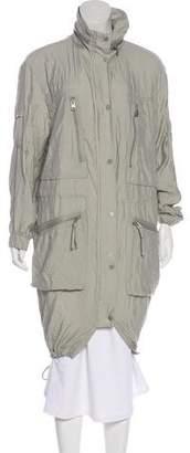 AllSaints Collared Long Coat