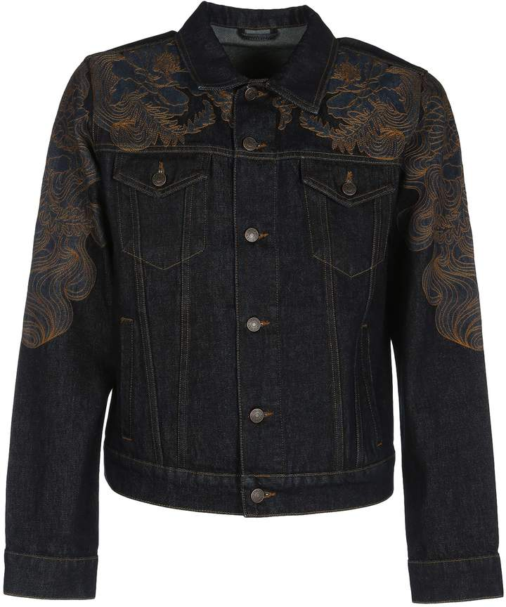 Dries Van Noten Embroidered Denim Jacket