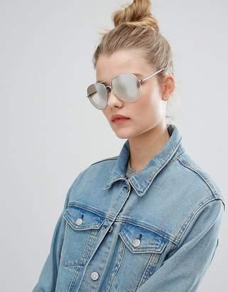 New Look Mirrored Aviator Sunglasses