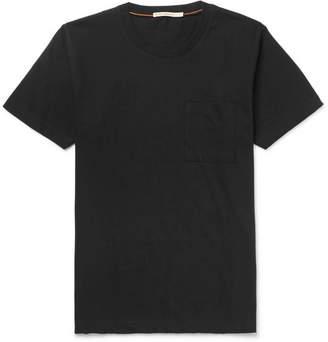 Nudie Jeans Kurt Organic Cotton-Jersey T-Shirt - Black