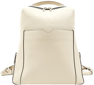 Valextra White Leather Backpacks