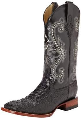 Ferrini Men's Print Crocodile S-Toe Western Boot