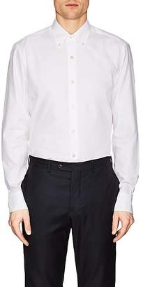 Maria Santangelo Men's Ottoman-Ribbed Cotton Shirt