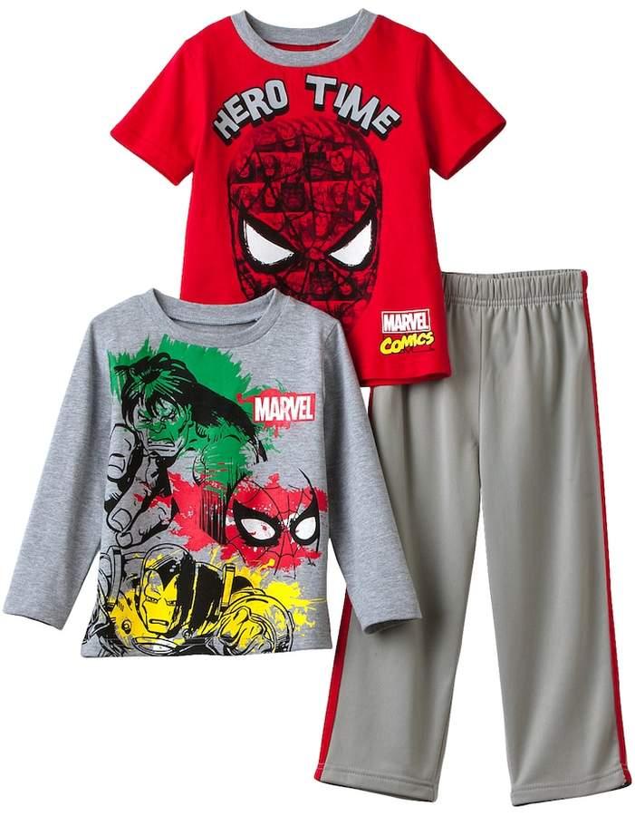 "Marvel's Spider-Man Toddler Boy ""Hero Time"" Tee & Pants Set"