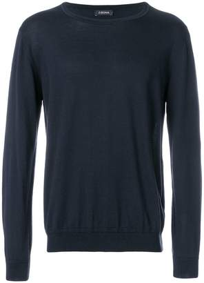 Z Zegna loose fit sweater