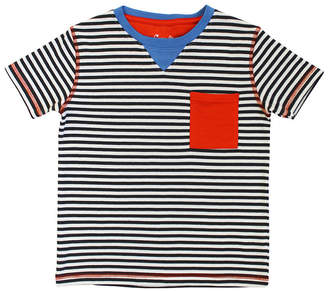 Coccoli Striped Pocket T-Shirt