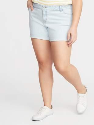 Old Navy Boyfriend Plus-Size Denim Shorts - 5-inch inseam
