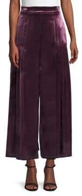 Temperley London Breeze Pleated Wide-Leg Trousers