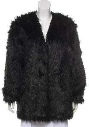 By Malene Birger Faux- Fur Short Coat